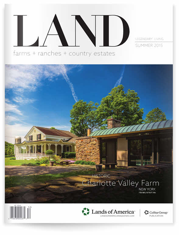 LAND Magazine cover